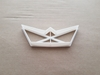 Origami Boat Ship Paper Folding Shape Cookie Cutter Dough Biscuit Fondant Sharp Stencil Yacht Japanese Japan