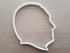 Putin Profile Person Face Shape Cookie Cutter Dough Biscuit Fondant Sharp Stencil Vladimir Russian President Russia