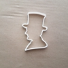 President Lincoln Profile People Shape Cookie Cutter Dough Biscuit Fondant Sharp Stencil Abraham Abe Famous American USA America