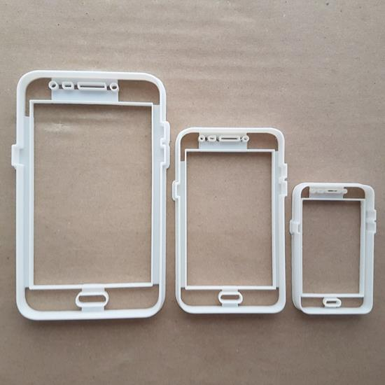 Mobile Smart Phone Android I Shape Cookie Cutter Dough Biscuit Fondant Sharp Stencil Cell Cellphone