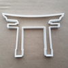 Torii Japan Shinto Gate Shrine Shape Cookie Cutter Dough Biscuit Fondant Sharp Stencil Japanese Temple Pergola Pagoda Spiritual Religious