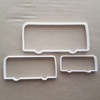 Bus Coach Double Decker Shape Cookie Cutter Dough Biscuit Pastry Fondant Sharp Stencil Vehicle
