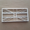 Great Britain Flag Country Union Jack Shape Cookie Cutter Dough Fondant Sharp Stencil National United Kingdom UK