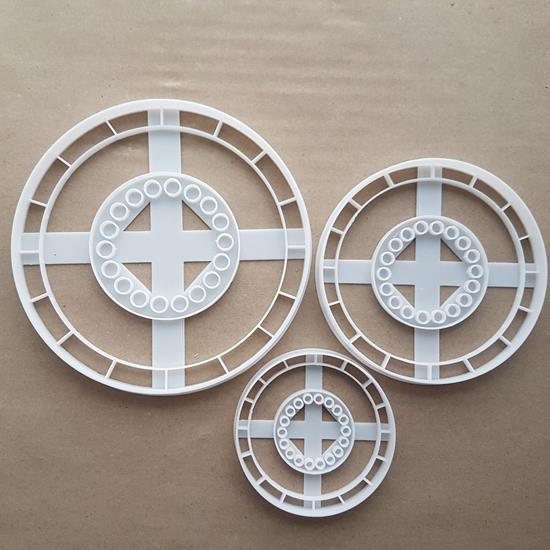 Poker Chip Bet Game Shape Cookie Cutter Dough Biscuit Pastry Fondant Sharp Stencil Casino Gambling