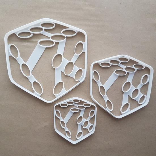 Dice Die Board Games Poker Shape Cookie Cutter Dough Biscuit Pastry Fondant Sharp Stencil Casino Gambling Luck Cubes