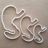 Stomach Human Body Organ Shape Cookie Cutter Dough Biscuit Pastry Fondant Sharp Stencil Part Science Medical Tummy Anatomy