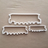 Static Caravan Holiday Home Shape Cookie Cutter Dough Biscuit Fondant Sharp Stencil Mobile Home Vacation Trailer Park