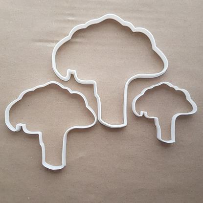 Broccoli Cauliflower Food Shape Cookie Cutter Dough Biscuit Pastry Fondant Sharp Stencil Vegetable Garden