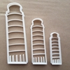 Leaning Tower Of Pisa Shape Cookie Cutter Dough Biscuit Pastry Fondant Sharp Stencil Italy Statue Building Italian Bell