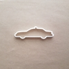 Taxi Yellow Cab USA Cab Shape Cookie Cutter Dough Biscuit Pastry Fondant Sharp Stencil New York Taxicab Car Vehicle