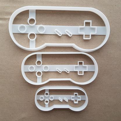 Snes Controller Pad Shape Cookie Cutter Dough Biscuit Pastry Fondant Sharp Stencil Super Nintendo Entertainment System Video Game