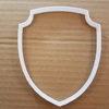 Shield Plaque Coat of Arms Shape Cookie Cutter Dough Biscuit Pastry Stencil Sharp Sign