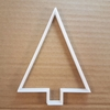 Tree Evergreen Pine Fir Shape Cookie Cutter Dough Biscuit Pastry Fondant Sharp Xmas Christmas Stencil