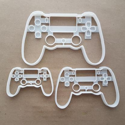 Play Station Controller Shape Cookie Cutter Dough Biscuit Pastry Fondant Sharp Stencil PS Console Video Game