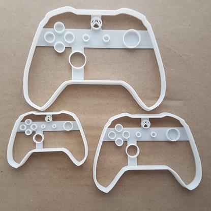 Xbox Controller Pad Game Shape Cookie Cutter Dough Biscuit Pastry Fondant Sharp Stencil Video Game Console Control