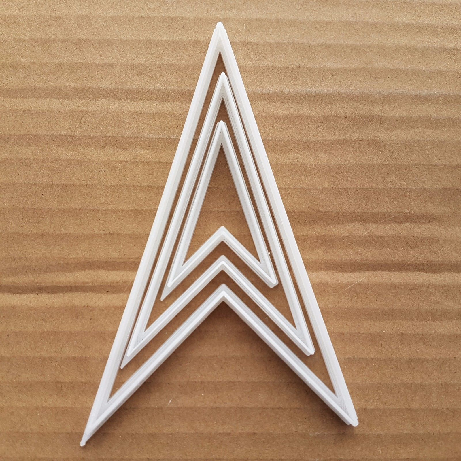 Location Arrow Symbol Shape Cookie Cutter Dough Biscuit Pastry