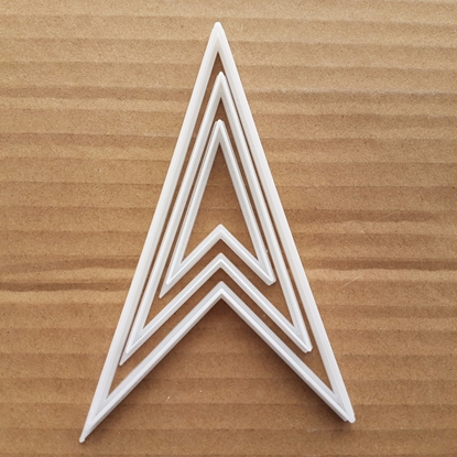 Location Arrow Symbol Shape Cookie Cutter Dough Biscuit Pastry Fondant Sharp Map Stencil Pointer