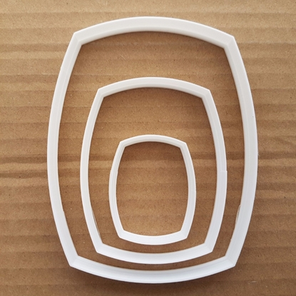 Barrel Keg Beer Brewery Shape Cookie Cutter Dough Biscuit Pastry Fondant Sharp Stencil