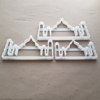 Taj Mahal Mausoleum Mosque India Shape Cookie Cutter Dough Biscuit Fondant Sharp Stencil Indian Agra Monument Building