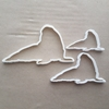 Walrus Mammal Seal Marine Shape Cookie Cutter Dough Biscuit Pastry Fondant Sharp Stencil Animal Beach Sea