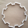 Cog Gear Machine Circle Shape Cookie Cutter Dough Biscuit Pastry Fondant Sharp Stencil Geometric Robot