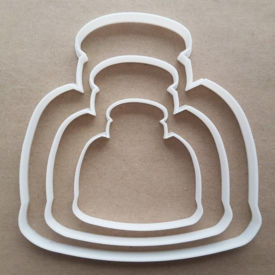 Toaster Breakfast Toast Shape Cookie Cutter Dough Biscuit Pastry Fondant Sharp Stencil Food Kitchen Appliance Bread Machine