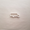 School Bus American Truck Shape Cookie Cutter Dough Biscuit Pastry Fondant Sharp Stencil Vehicle Van