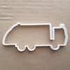 Garbage Truck Bin Lorry Shape Cookie Cutter Dough Biscuit Pastry Fondant Sharp Stencil Vehicle Trash Waste Recycling