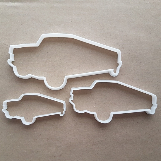 Limo Limousine Hummer Car Shape Cookie Cutter Dough Biscuit Pastry Fondant Sharp Stretch Stencil Vehicle