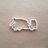 Cement Truck Mixer Lorry Shape Cookie Cutter Dough Biscuit Pastry Fondant Sharp Stencil Vehicle Wagon
