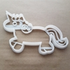 Unicorn Pegasus Horse Shape Cookie Cutter Dough Biscuit Pastry Fondant Sharp Stencil Animal Mythical Creature Cute