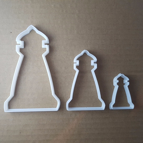 Lighthouse Marine Coast Shape Cookie Cutter Beach Biscuit Pastry Fondant Sharp Stencil Dough Building Seaside Sea Ocean