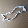 Ribbon Plaque Flag Award Shape Cookie Cutter Dough Biscuit Pastry Fondant Sharp Banner Stencil Award Sash