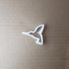 Humming Bird Fly Animal Shape Cookie Cutter Dough Biscuit Pastry Fondant Sharp Hummingbird Stencil