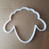 Sheep Lamb Farm Animal Shape Cookie Cutter Dough Biscuit Pastry Fondant Sharp Stencil Farmyard Yard Ewe