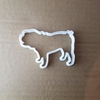 Pug Dog Pooch Pet Puppy Shape Cookie Cutter Animal Biscuit Pastry Fondant Sharp Mammal Stencil