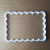 Rectangle Plaque Frame Shape Cookie Cutter Dough Biscuit Pastry Fondant Sharp Stencil