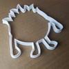Monster Boogie Scary Shape Cookie Cutter Dough Biscuit Pastry Fondant Sharp Alien Stencil Halloween