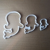 Mermaid Fantasy Sea Myth Shape Cookie Cutter Beach Biscuit Pastry Fondant Sharp Stencil Dough Ocean