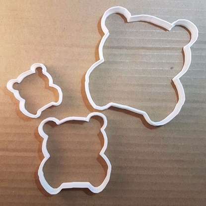 Panda Giant Bear Cub Shape Cookie Cutter Animal Biscuit Pastry Fondant Sharp Stencil Dough Baby Cute Mammal