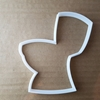 Toilet Loo WC Bathroom Shape Cookie Cutter Dough Biscuit Pastry Fondant Sharp Stencil Bath Room House Warming Restroom Cloakroom