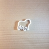 Staffy Terrier Dog Pet Shape Cookie Cutter Dough Biscuit Pastry Fondant Sharp Stencil Staffordshire English Bull Doggy Puppy Animal Mammal