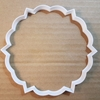 Plaque Frame Circle Plate Shape Cookie Cutter Dough Biscuit Pastry Fondant Sharp Name Prize Stencil Award