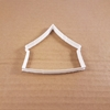 Tent Marquee Hut Cabin Shape Cookie Cutter Dough Biscuit Pastry Fondant Sharp Stencil Yurt Camping Camp Clamping Awning