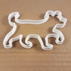 Dog Pooch Pet Doggy Puppy Shape Cookie Cutter Dough Biscuit Pastry Fondant Sharp Stencil Woof