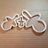 Pacifier Dummy Baby Toy Shape Cookie Cutter Dough Biscuit Pastry Fondant Sharp Stencil Shower Christening Baptism Soother