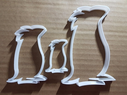 Penguin King Royal Bird Shape Cookie Cutter Animal Biscuit Pastry Fondant Sharp Stencil Ice Winter