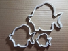 Fish Angel Perch Sea Shape Cookie Cutter Animal Biscuit Pastry Fondant Sharp Dough Creature Stencil Beach Seaside Marine Ocean Sea Side