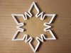 Snowflake Winter Christmas Shape Cookie Cutter Xmas Biscuit Pastry Fondant Sharp Snow Flake Dough Stencil Ice Frost