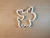Reindeer Xmas Christmas Shape Cookie Cutter Animal Biscuit Pastry Fondant Sharp Dough Stencil Mammal